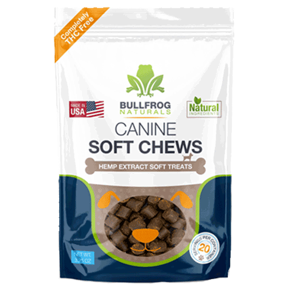 Buy Bullfrog CBD Pet Treats Online